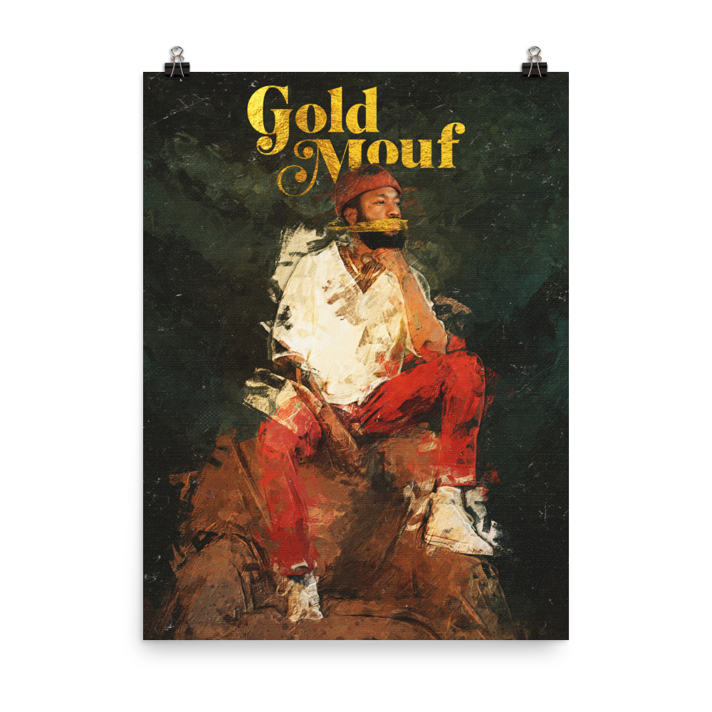 Gold Mouf Poster