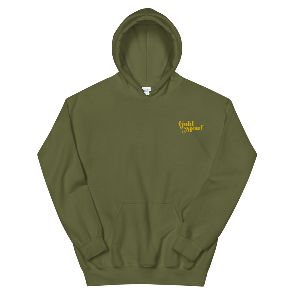 Gold Mouf Hoodie